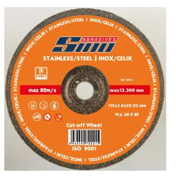 Abrasives Flat Type Cut off Wheel for Inox