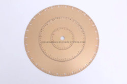 Vacume Brazed Diamond Blade Continuous Rim Type for Stone Cutting