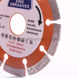 Segmented Type Wet Cutting Diamond Blade for Stone Cutting